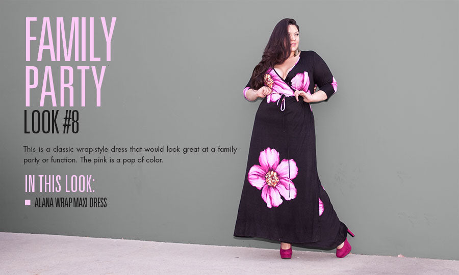 family party | plus size fashion