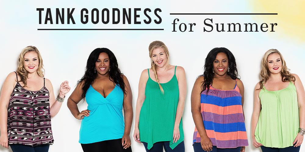 Plus Size Tank Goodness