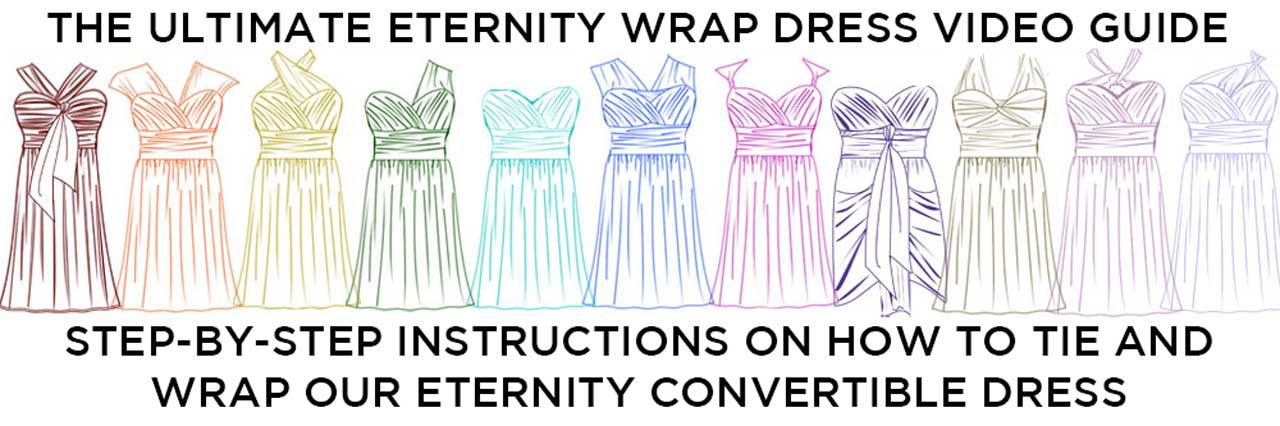 Wrap 101 - Eternity Convertible Dress | Swak Designs Plus ...