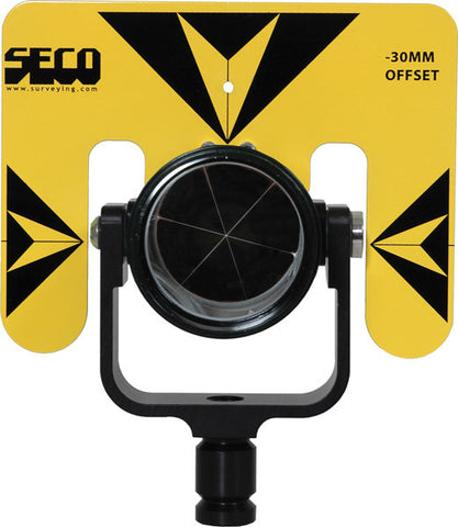 Rear Locking 62 mm Premier Prism Assembly with 5.5 x 7 inch Target - Yellow with Black