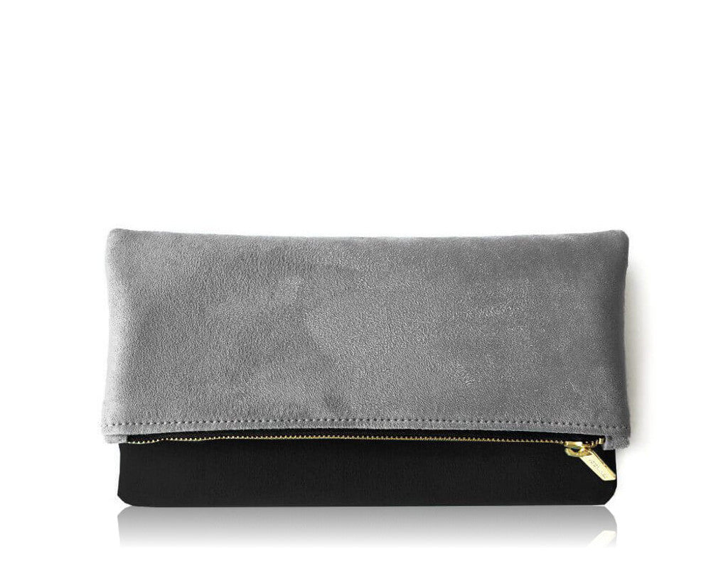 TWO TONE | GREY BLACK FOLDOVER