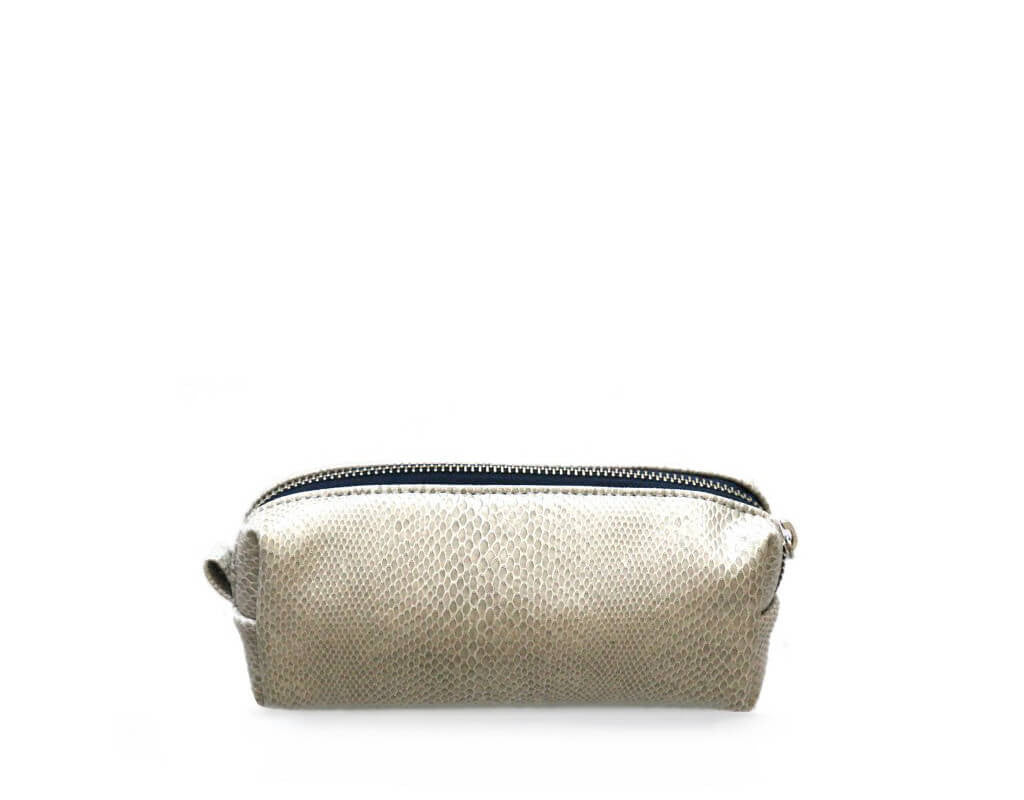 CREAM COSMETIC BAG
