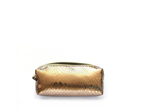 COPPER COSMETIC BAG