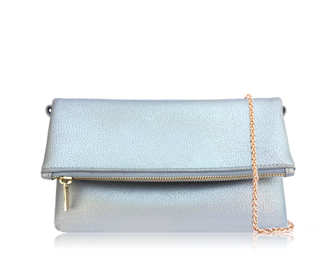 CROSSBODY SILVER TURTLE