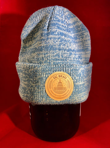 Marled Beanie with Patch