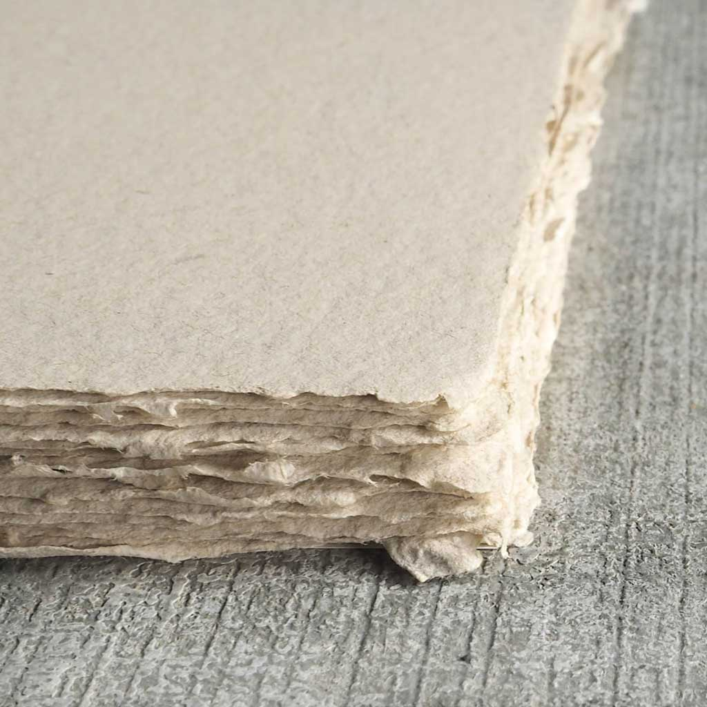 Handmade Cotton and Chipboard Paper