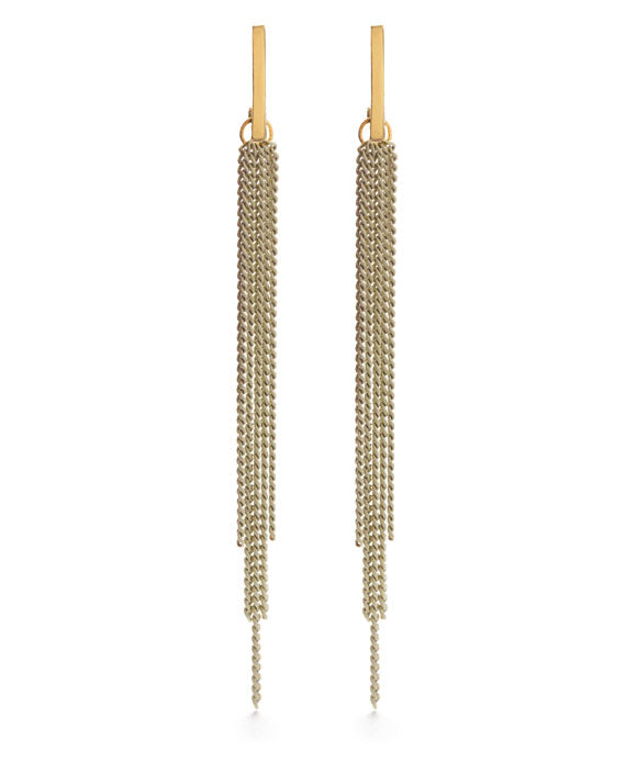 Chain Duster Stud Earrings