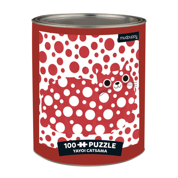 Artsy Cats 100 Piece Puzzle Tin