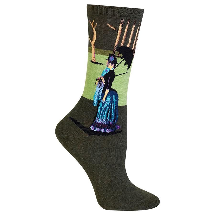 Women's Seurat's A Sunday Afternoon Crew Socks