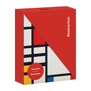 MoMA Abstraction Notecard Folio Box