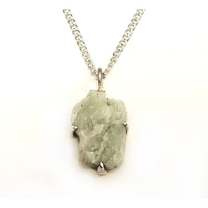 Architectural Salvage Green Aggregate Pendant