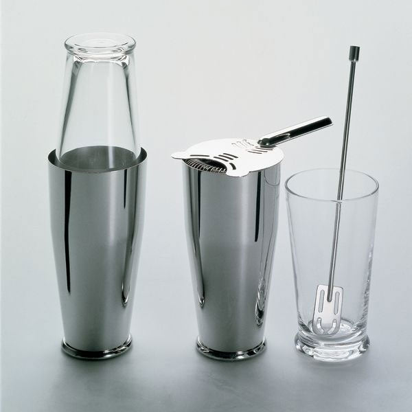 Alessi Boston Cocktail Shaker Bar Set