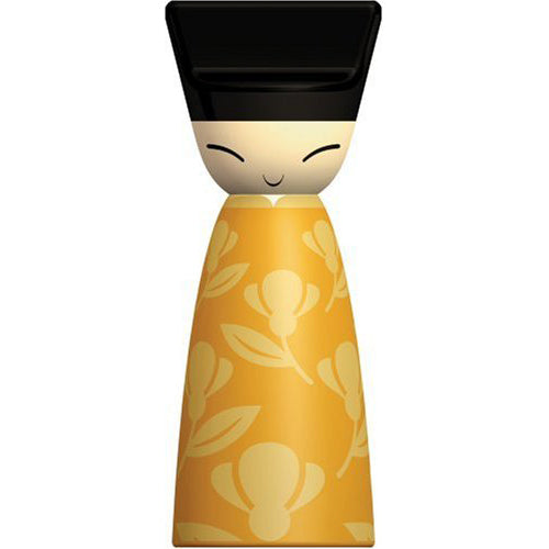 A di Alessi King Chin Grinder Yellow