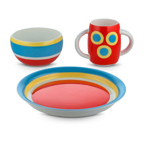 "Alessini ""Con-Centrici"" - Children's Tableware"