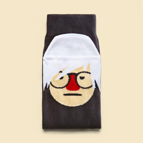 Chatty Feet Andy Sock-Hole Socks