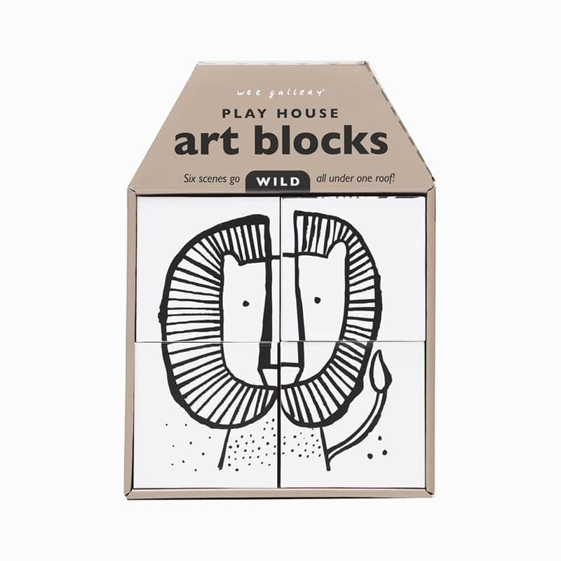 Wild Play House Art Blocks
