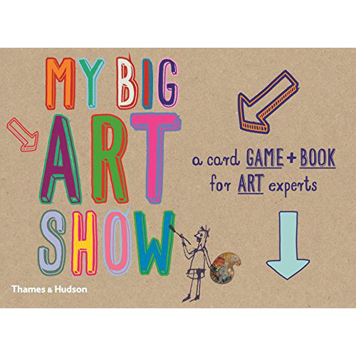 My Big Art Show Game and Book