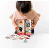 Art Studio Magnetic Dress Up Doll & Play Set