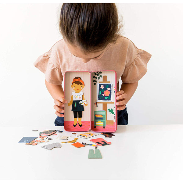 Shine Bright at The Studio Magnetic Dress Up & Play Set