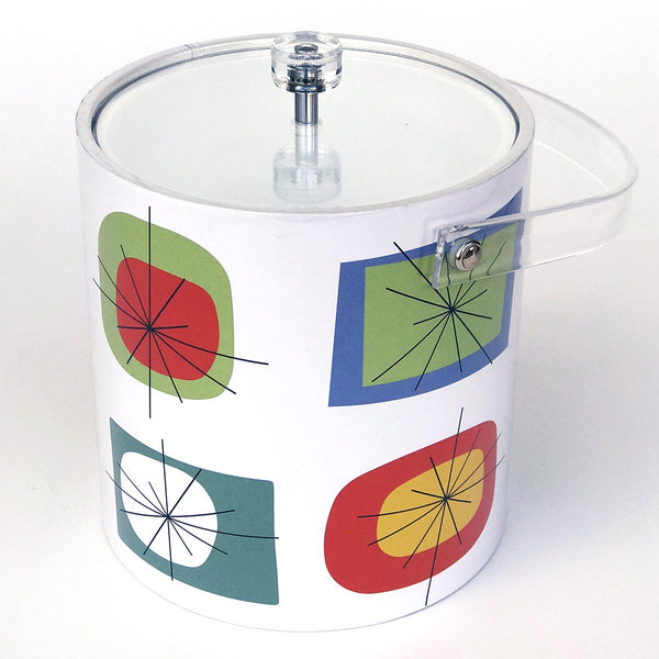 Atomic Design Retro Style Ice Bucket