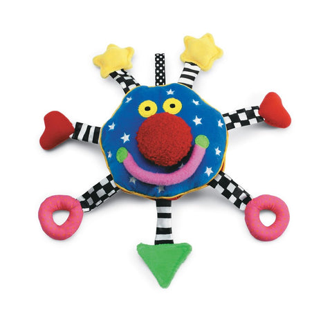 Baby Whoozit Rattle & Squeaker Toy