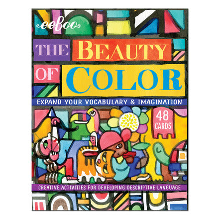 Beauty of Color Vocabulary Flash Cards