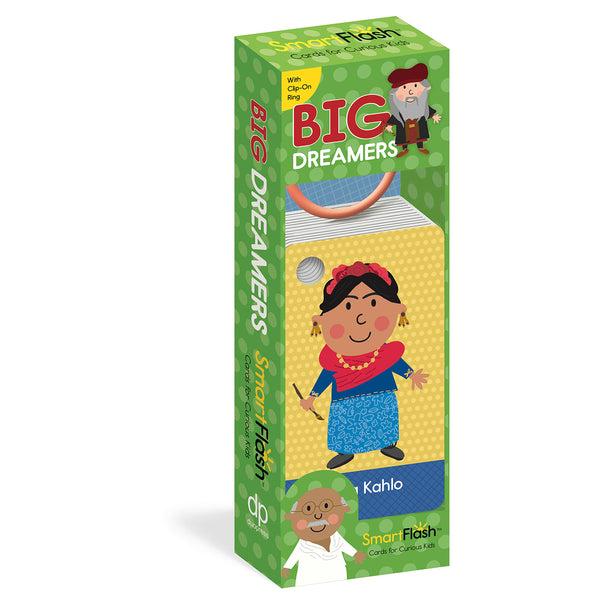 Big Dreamers Flash Cards