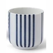 Blue and White Tea Cup Set