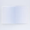 Blue Ombre Dot Grid Notebook