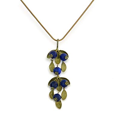 Blueberry Pendant Necklace - Michael Michaud Design