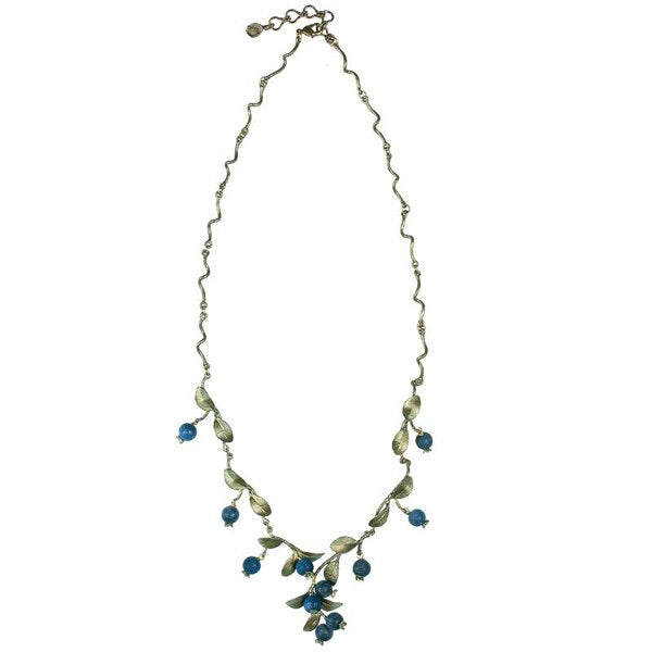 Blueberry Twig Necklace - Michael Michaud Design