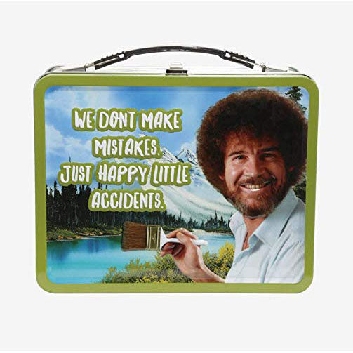 "Bob Ross ""Happy Little Accidents"" Lunch Box"