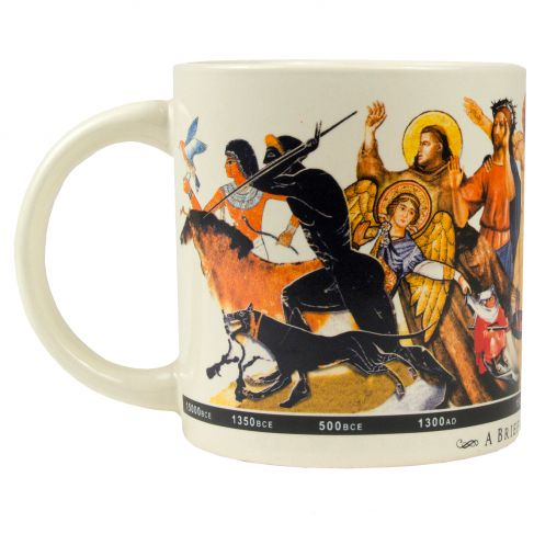 A Brief History of Art Coffee Mug