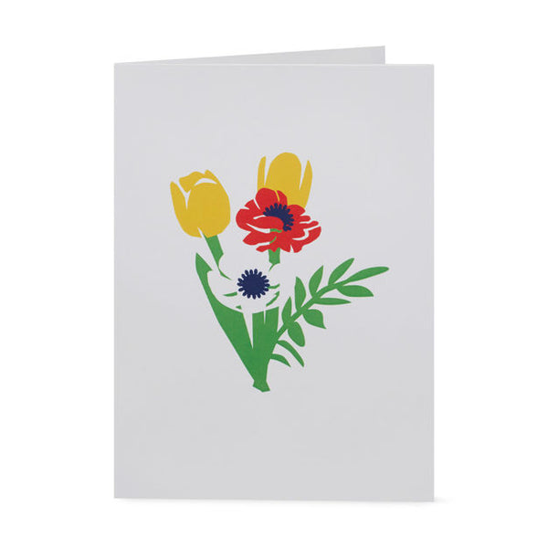 Brilliant Bouquet 3D Pop-up Greeting Card