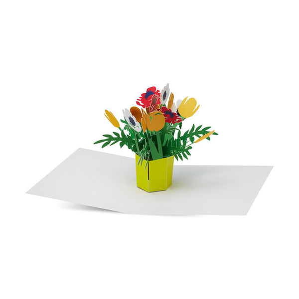 Brilliant Bouquet 3D Pop Up Greeting Card