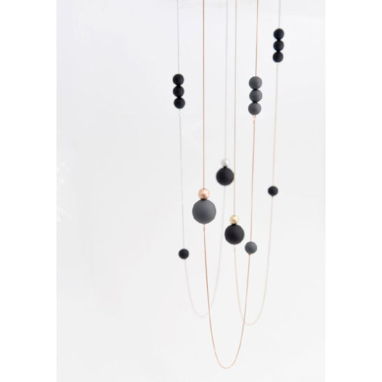 Pursuits: Bubbles Rose Gold Necklace