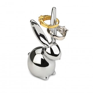 Bunny Ring Holder in Chrome