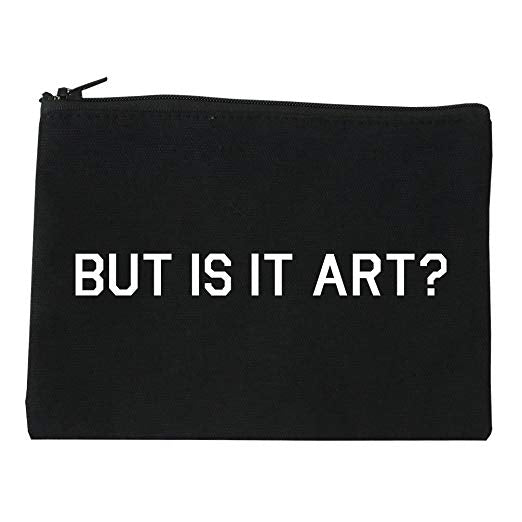 But Is It Art? Cosmetic Bag
