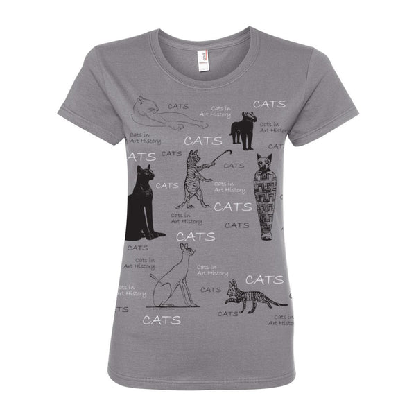 Cats In Art History T-Shirt