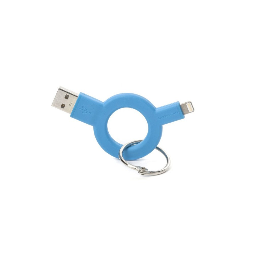 Charge & Sync Blue Keychain