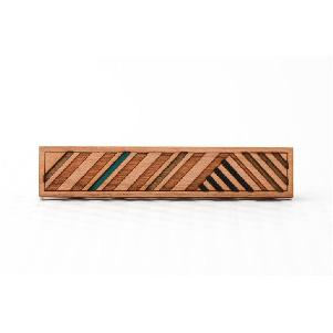 Cherry Stripes Tie Bar
