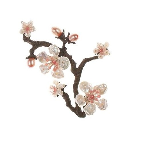 Cherry Blossom Twig Pin by Michael Michaud