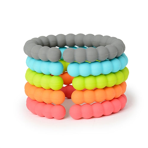 Chewbeads Baby Rainbow Silicone Links
