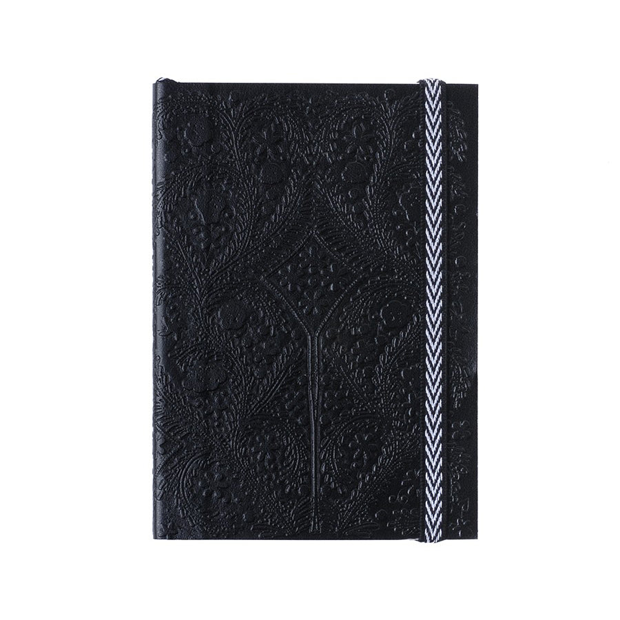 Christian Lacroix Embossed Black Paseo Notebook