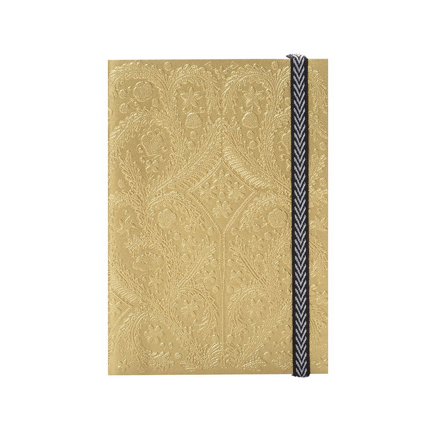 Christian Lacroix Embossed Gold Paseo Notebook