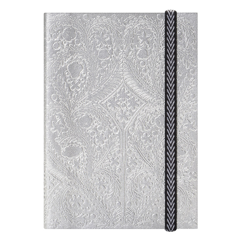 Christian Lacroix Embossed Silver Paseo Notebook