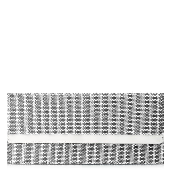 Stewart/Stand RFID Silver Clutch Wallet for Women