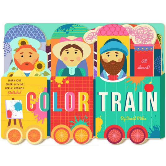 Color Train Board Book
