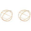 Nina Berenato Crossroads 14K Gold Earrings
