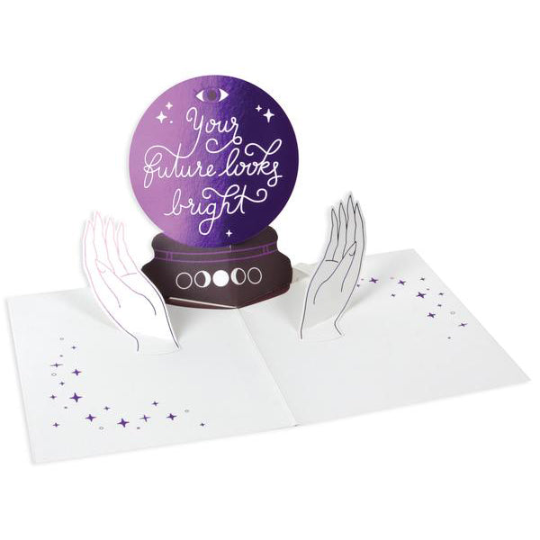 Crystal Ball 3D Pop Up Greeting Card